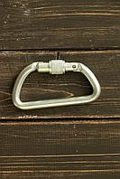 Карабин альпинистский дюралевый РИНГ трапеция 22кН, фото 1
