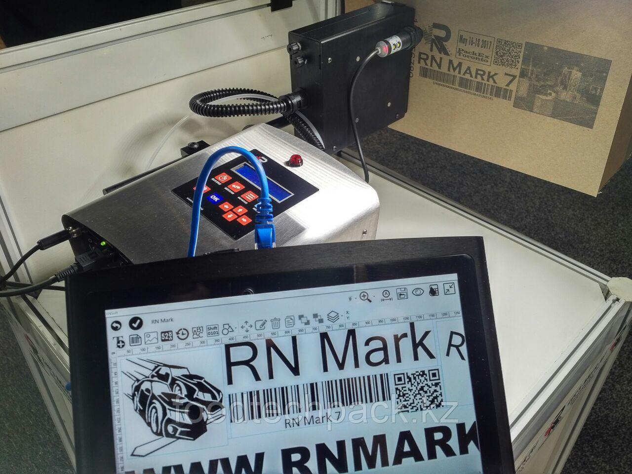 Крупносимвольный принтер высокого разрешения RN Mark Е1-72 (печать под любым углом информации до 72 мм)