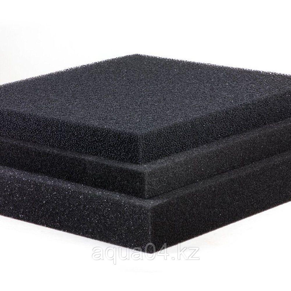 Фильтр поролоновый серого цвета мелкопористый (50*50*2 см)