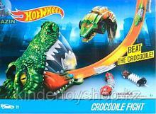 Авто трек Hot Wheels Игровой набор «крокодил»  2701