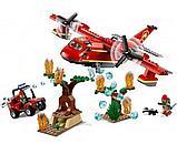 Конструктор Lari City Пожарный самолёт 11214 (Аналог лего LEGO City 60217) 381 дет, фото 3