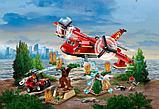 Конструктор Lari City Пожарный самолёт 11214 (Аналог лего LEGO City 60217) 381 дет, фото 4