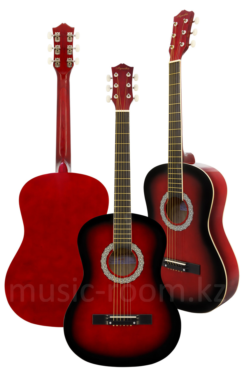Акустическая гитара Agnetha APG-E110 RD