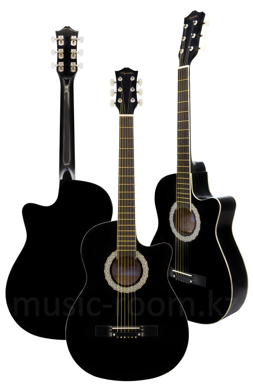Акустическая гитара Agnetha APG-E110C BK