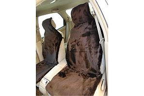 Автомобильный чехол. Меховые накидки из овечьей шерсти., фото 2