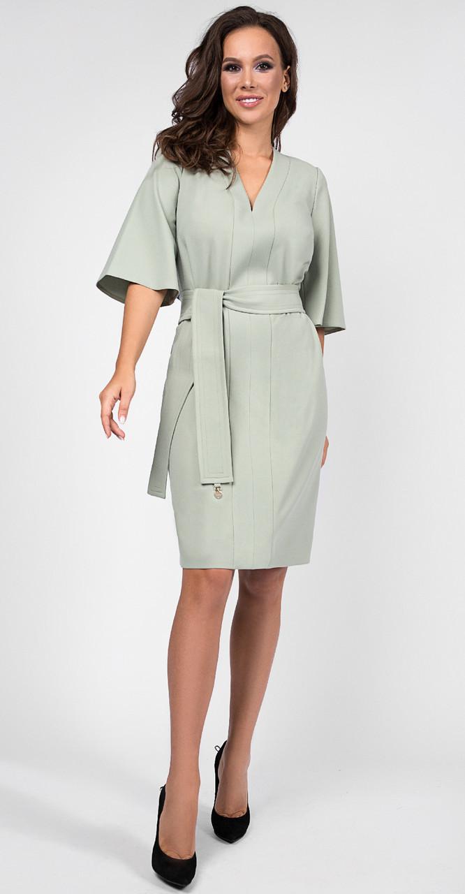 Платье TEFFI style-1438/2, фисташковый, 52