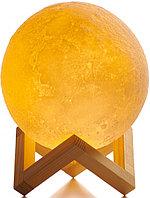 Светильник шар Moon Lamp настольный 3D