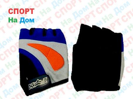 Перчатки для фитнеса, атлетические FOX Размер L (цвет синий), фото 2