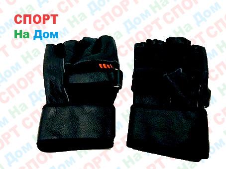Перчатки для фитнеса, атлетические Размер L (цвет черный)