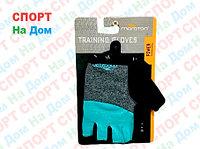 Перчатки для фитнеса, атлетические Maraton Размер M (цвет голубой)