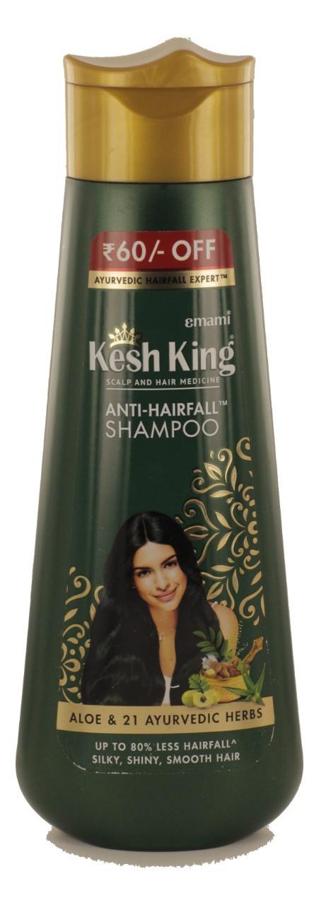 Аюрведический лечебный шампунь против выпадения волос Алое Вера, 200 мл, производитель Кеш Кинг; Anti-Hairfal