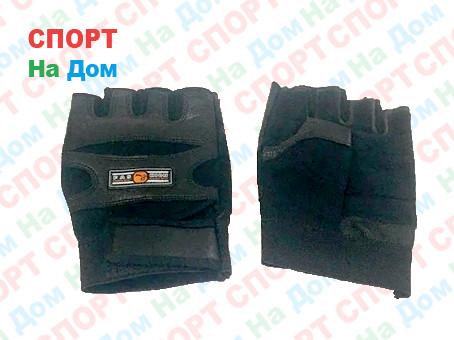 Перчатки для фитнеса, атлетические Sport Best Размер M (цвет черный)