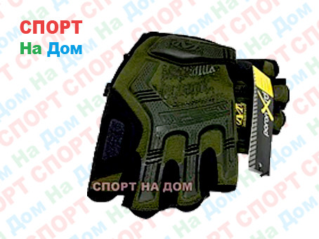 Перчатки тактические M-Pact Glove без пальцев - фото 1