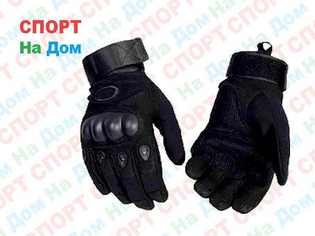Перчатки тактические с пальцами Размер L (цвет черный), фото 2