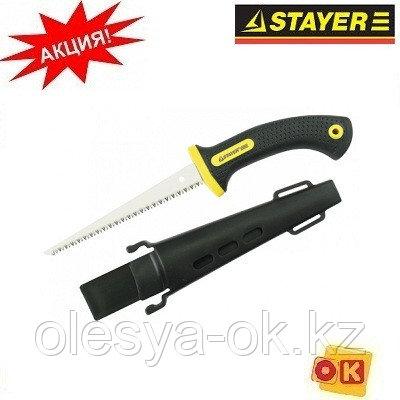 "Ножовка по гипсокартону, STAYER ""PROFI"" 2-15170, фото 2"