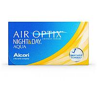 Линзы Air Optix Night&Day Aqua, 3шт