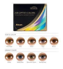 Линзы цветные Air Optix Colors