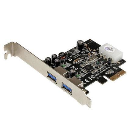 Плата PCIe USB 3.0 2 порта, фото 2