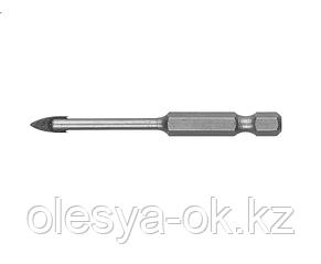 Сверло по кафелю, керамике, стеклу, 4 мм ЗУБР 29840-04, фото 2