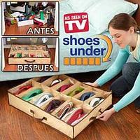 Органайзер для обуви Shoes Under (Большой и жесткий), фото 1