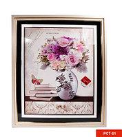 Картина со стразами «Букет цветов» (PCT-01), фото 1