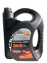 Моторное масло ONZOIL 20W50 SG/CF 4,5