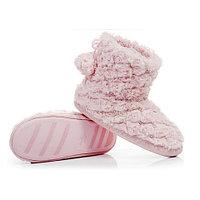 Тапочки-угги домашние со стразами Pettimelo L-315 (36/37 / Розовый), фото 1