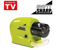 Точилка для ножей электрическая беспроводная Swifty Sharp 4 в 1, фото 1