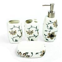 Набор керамических аксессуаров для ванной «Табыс» (02)
