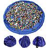 Сумка-коврик для игрушек Toy Bag (Ø 150 см / Красно-синяя)