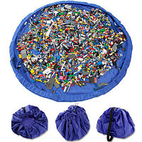 Сумка-коврик для игрушек Toy Bag (Ø 150 см / Красно-синяя), фото 1