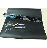 Стикер-доска для рисования мелом Black Board Sticker [200х45 см]