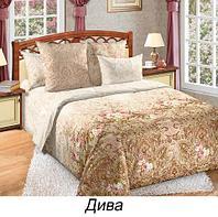 Комплект постельного белья из сатина «Дива» (Семейный)
