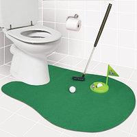 Набор для игры в гольф в туалете TOILET GOLF