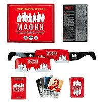 Игра настольная карточная «Мафия. Чикаго» с очками [36 героев; 15 очков]