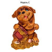 """Копилка-талисман для привлечения денег в виде собачки """"Merry Dog"""" (C)"""