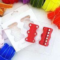 Умные магниты для шнурков Magnetic Shoelaces (Красный / Для детей)