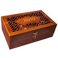 Игра настольная «Русское лото» в деревянном футляре