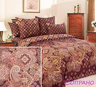 Комплект постельного белья из бязи евростандарт «Королевское искушение» ТекстДизайн (Сопрано)