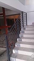 Перила на лестницу из стали на заказ