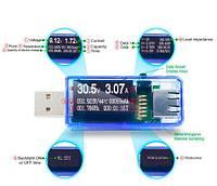 Цифровой USB тестер-вольтамперметр с OLED дисплеем ATORCH 12-в-1 (только USB-тестер)