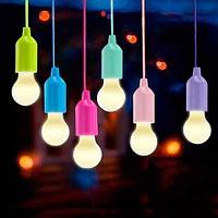 Светильник светодиодный беспроводной «Лампочка» на шнурке (Зеленый)