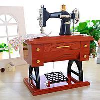 Музыкальная шкатулка в ретростиле «Швейная машинка» MUSIC SARTORIUS