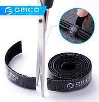 Стяжка-липучка для организации проводов ORICO [1 метр] (Синий)