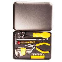 Набор инструментов в железном кейсе [21 предмет] (TM-2054), фото 1