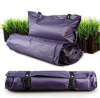 Каремат-коврик самонадувающийся с подушкой SANJIA в чехле
