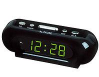 Часы электронные сетевые с будильником LED ALARM CLOCK VST-716 (Зеленый), фото 1