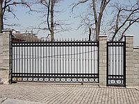 Ворота откатные на заказ от компании Дом и К