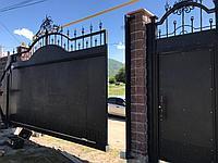 Изготовление откатных ворот на заказ