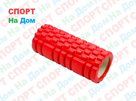 Массажный валик (ролик) для фитнеса и йоги (длина - 32 см)